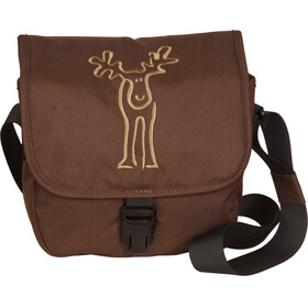Elkline Diefeine Shoulder Bag darkbrown-taupe